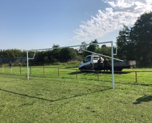 Galvanised Goal Posts