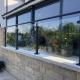 toughened glass balustrade