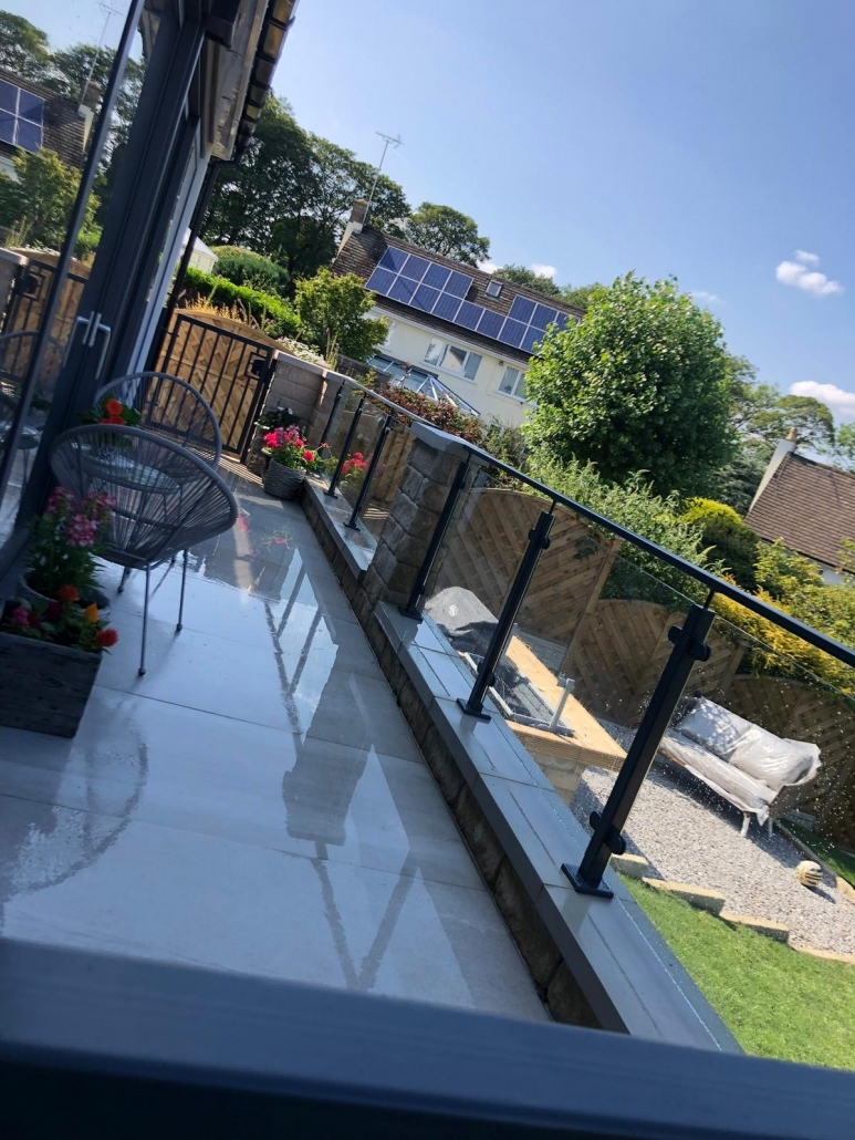 glass balustrades bradford leeds