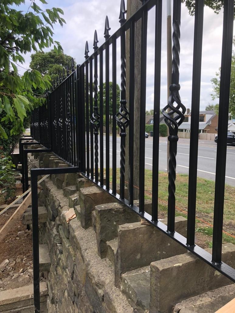 railings steel fabrication