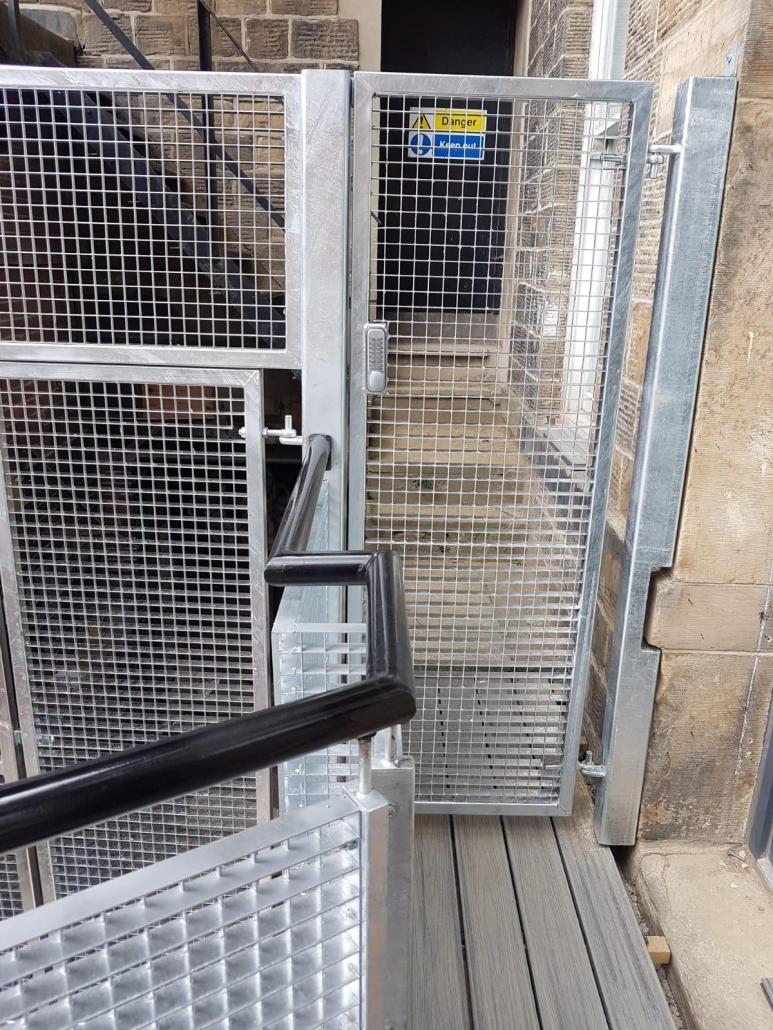 general fabrication work steel gate