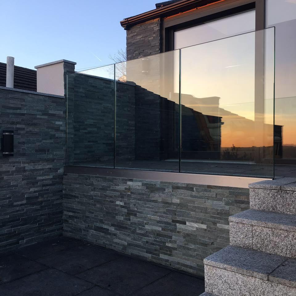 glass infinity balustrade Yorkshire