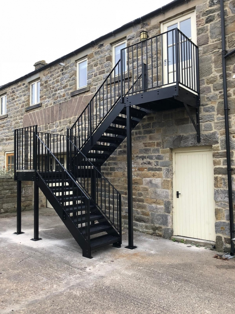 external staircase fabrication
