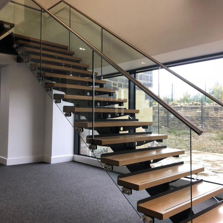 internal bespoke steel staircase fabrication