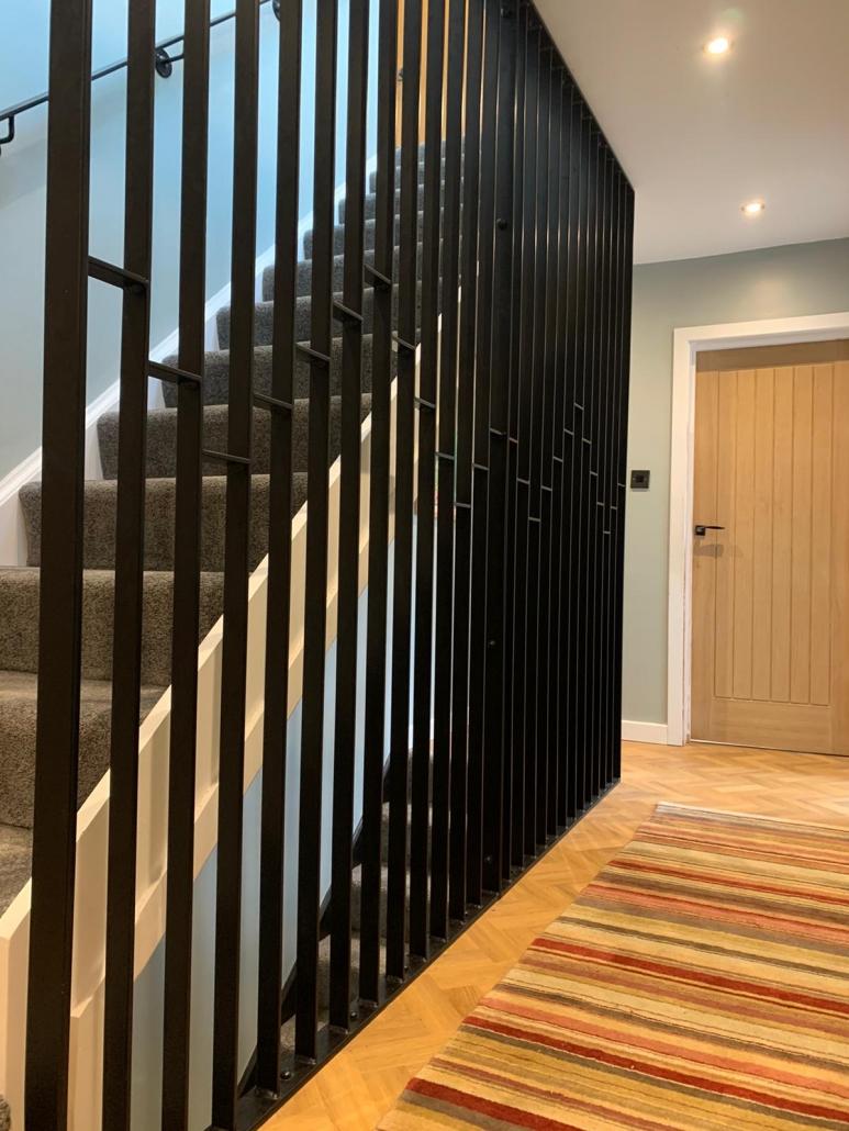 Internal decorative balustrade/railing